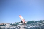 Wave windsurfing at El Cabezo in El Medano Tenerife 27-09-2020