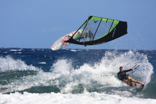 Wind and kite El Cabezo